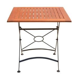 Ogrodowy stół rozkładany z drewna eukaliptusowego ADDU Vienna, dł. 75cm