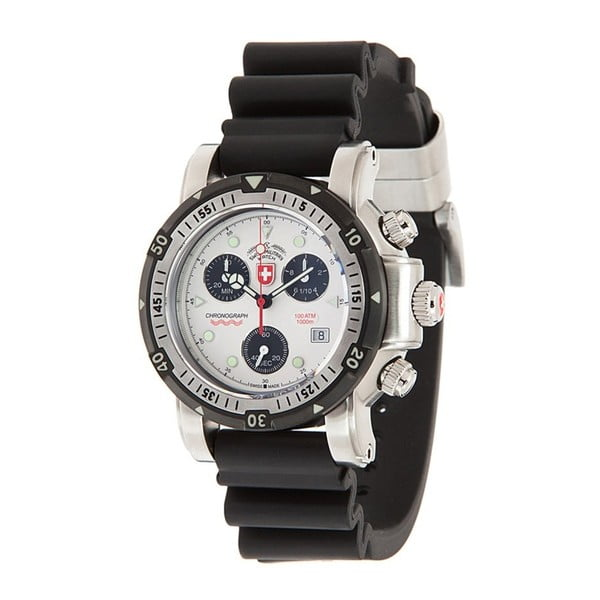 Męski zegarek Swiss Silver Diving