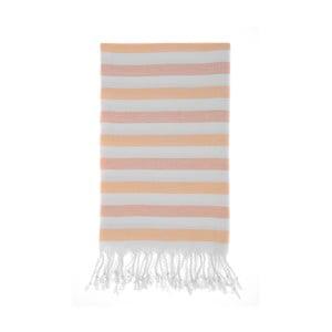 Ręcznik hammam Didim Beige, 100x180 cm