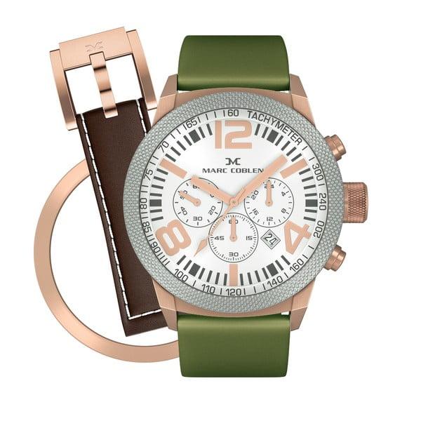 Zegarek unisex Marc Coblen z dodatkowym paskiem i obręczą P89