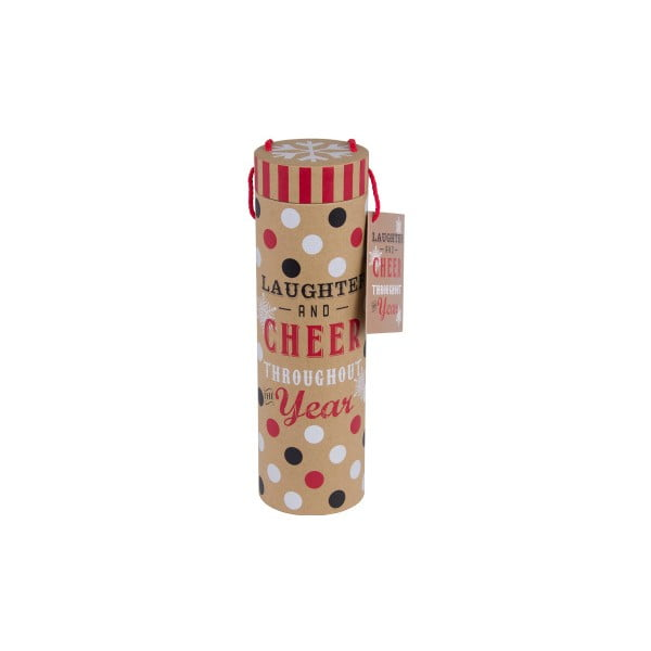 Tuba podarunkowa na butelkę Tri-Coastal Christmas Cookie