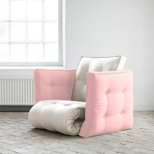 Fotel rozkładany Karup Dice Vision/Pink Peonie