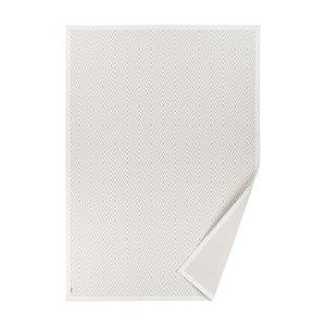 Biały dywan dwustronny Narma Kalana, 70x140 cm