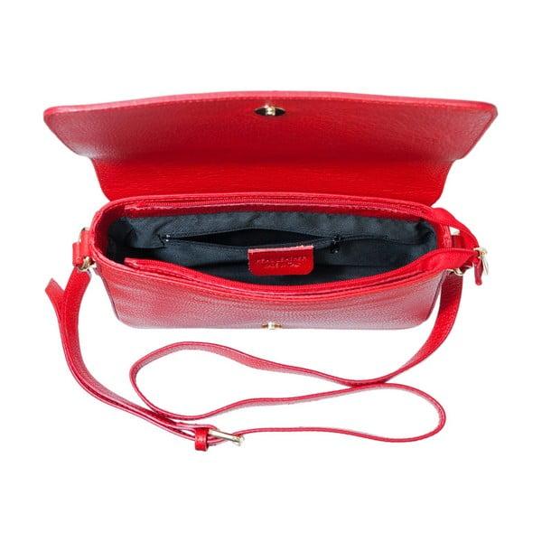 Czerwona torebka skórzana Andrea Cardone Nicol