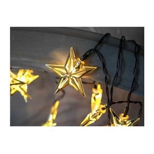 Girlanda świetlna LED Best Season Metal Stars Golden