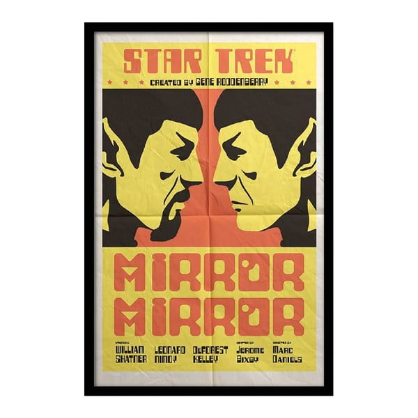 Plakat Star Trek, 35x30 cm