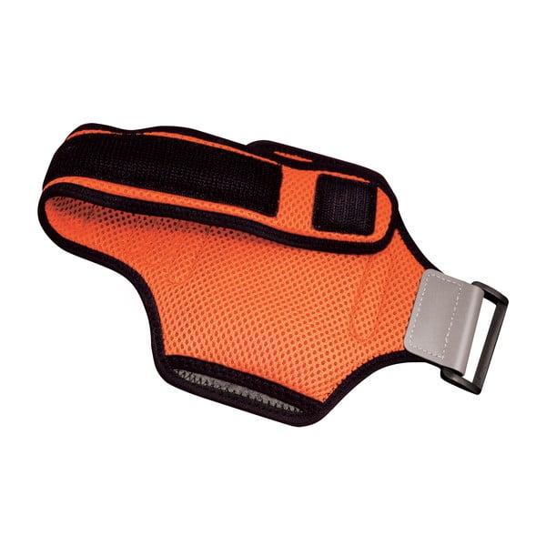 Sportowa opaska na ramię, neopreonowa Celly XXL, pomarańczowa