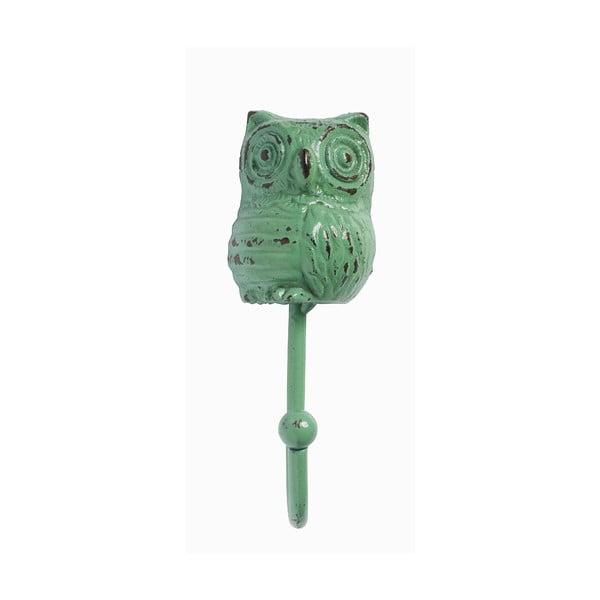 Wieszak Owl, turkusowy