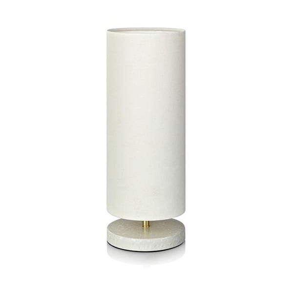 Biała lampa stołowa Markslöjd Herald