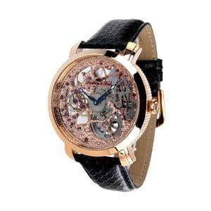 Czarno-złoty zegarek Lindberg&Sons