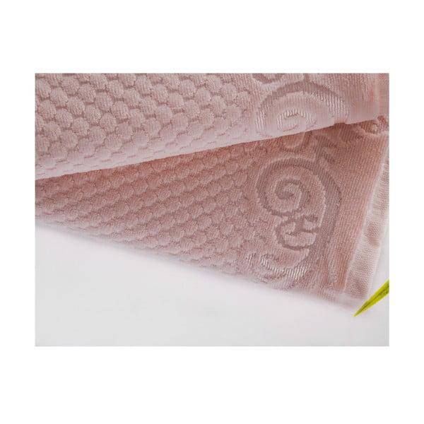 Zestaw 2 ręczników Acustic Light Powder, 50x90 cm i 70x140 cm