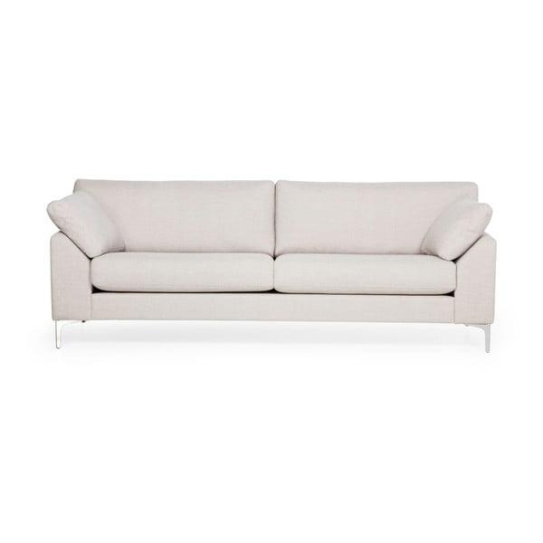 Kremowa sofa 3-osobowa Softnord Garda