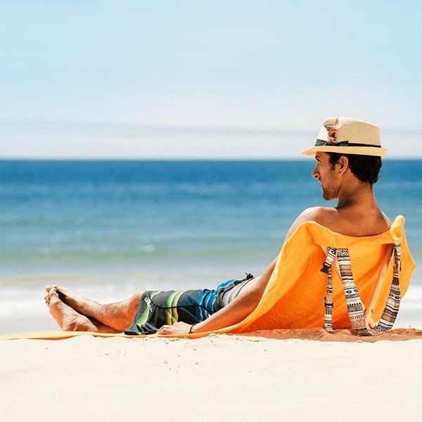Leżak i ręcznik plażowy w jednym Sun Seat Tribal