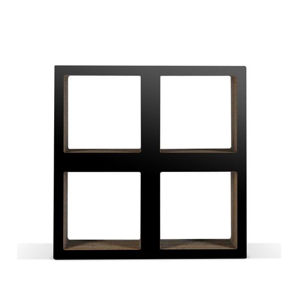 Kartonowa biblioteczka Bit Square Black