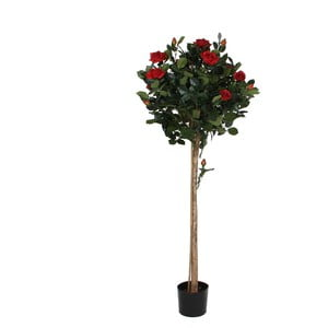 Sztuczny kwiatek w doniczce Mica Rose Lady