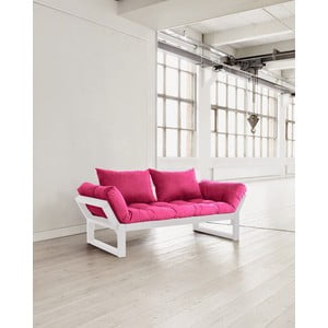 Sofa Karup Edge White/Pink
