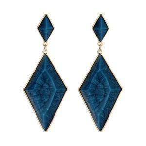 Kolczyki Wisteria Blue Lapis