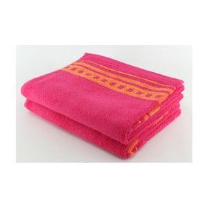 Zestaw 2 ręczników Clay Raspberry, 70x140 cm