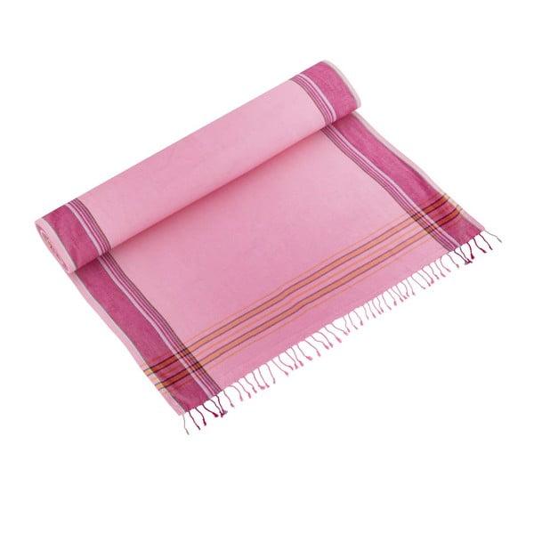 Ręcznik Zeki Pink, 100x178 cm