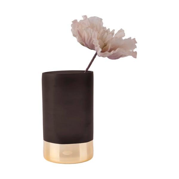 Czarno-złoty wazon PT LIVING Glamour, wys. 20 cm
