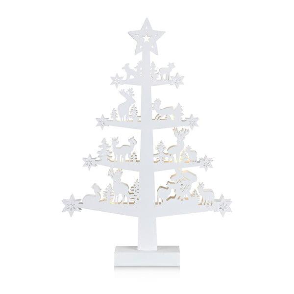 Biała dekoracja świecąca Markslöjd Prince, wys. 47 cm