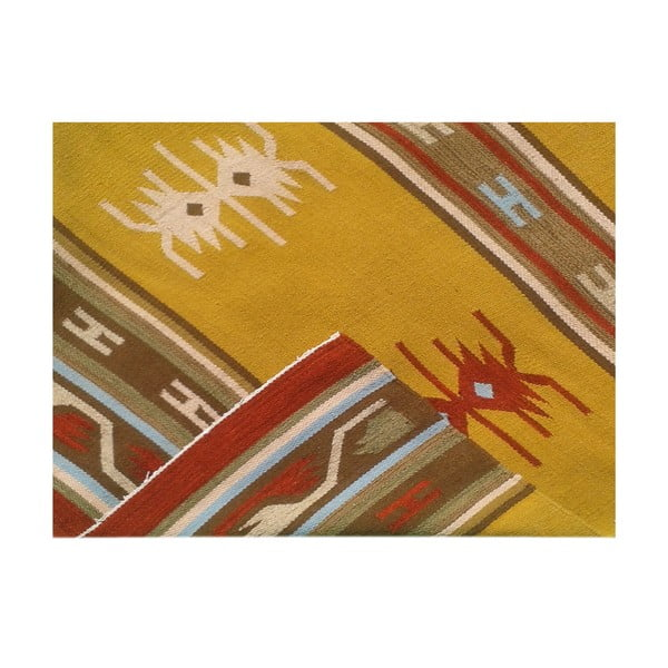 Ręcznie tkany dywan Kilim No. 127, 120x180 cm