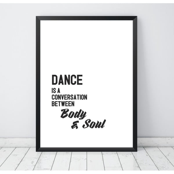 Plakat Nord & Co Dance Is, 21x29 cm
