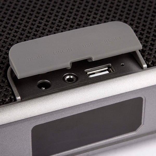 Czarny głośnik wodoodporny Veho M7 Mode Retro