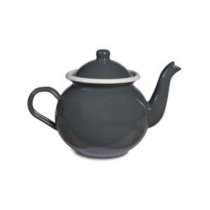 Szary emaliowany dzbanek do herbaty Garden Trading Tea, 1 l