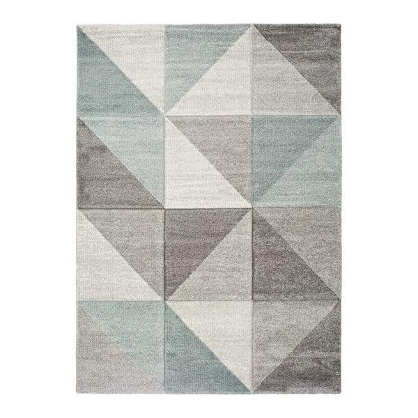 Niebiesko-szary dywan Universal Retudo Naia, 140x200 cm