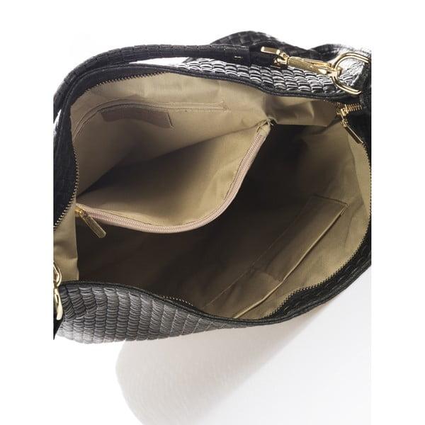 Czarna torebka skórzana Giorgio Costa Parma