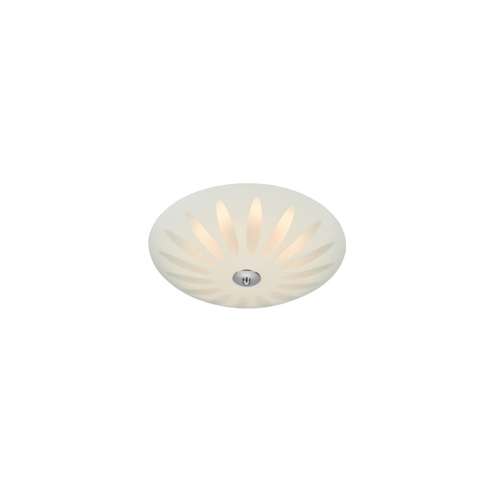 Biała lampa sufitowa LED Markslöjd Petal, ø 35 cm
