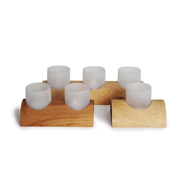 Zestaw 3 świeczników Me