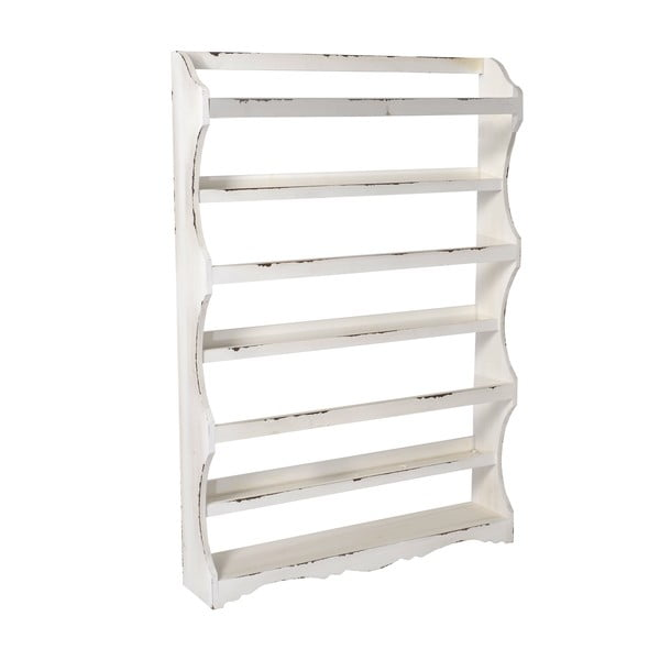 Drewniana półka White Hanger