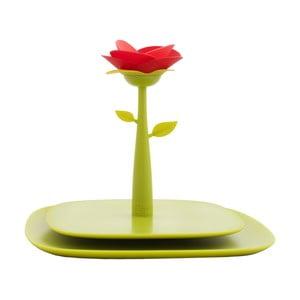Stojak na serwetki Vigar Green Flower