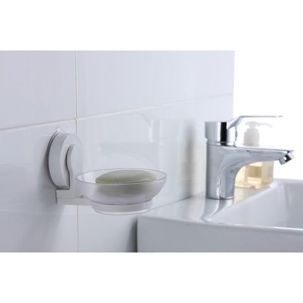 Mydelniczka z przyssawką ZOSO Soap Dish White