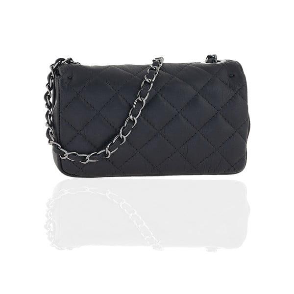 Skórzana torebka Isabelle, black
