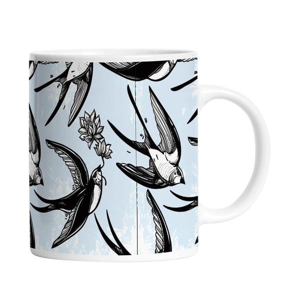 Ceramiczny kubek Swallow Bird, 330 ml