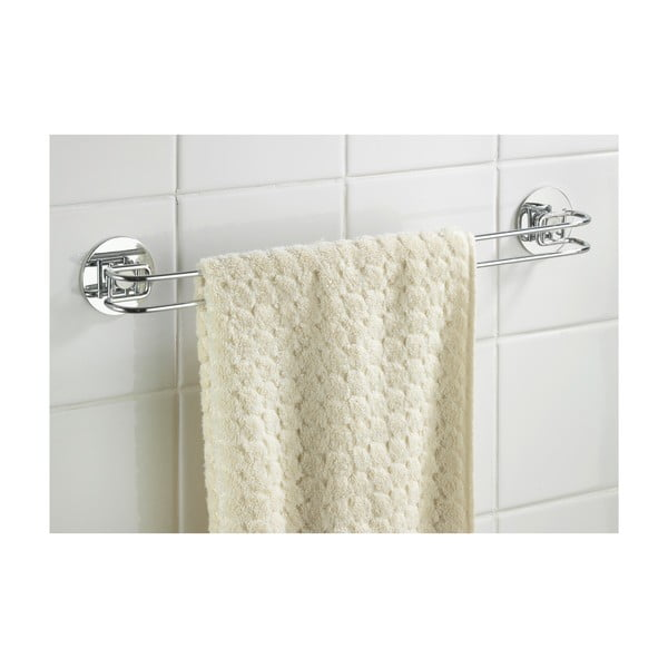 Samoprzyczepny   wieszak na ręczniki Turbo-Loc 46 cm, do 40 kg