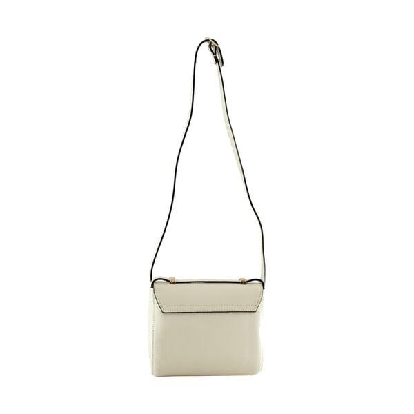 Skórzana torebka przez ramię Sonja, beżowa