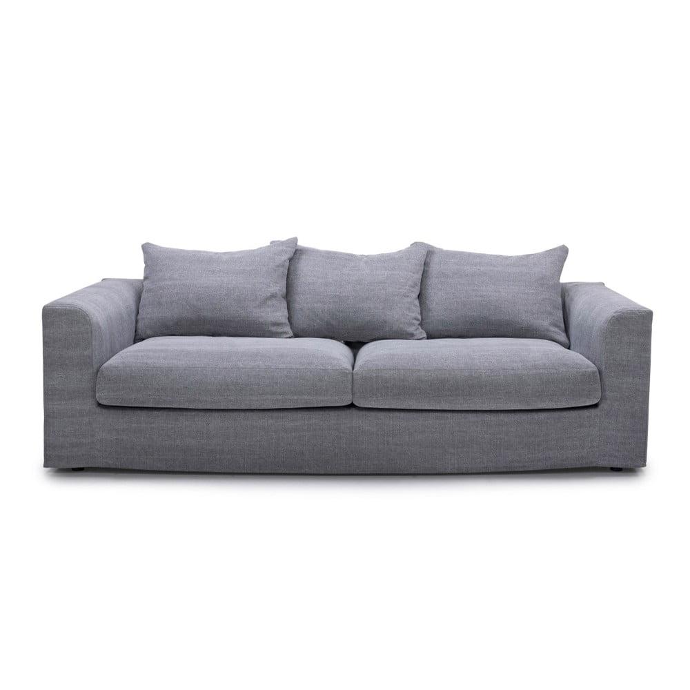 Ciemnoszara sofa 3-osobowa SoftNord Portland