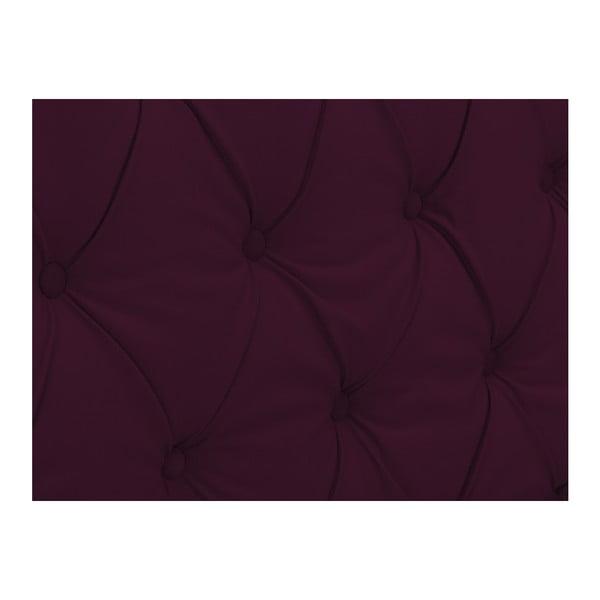 Czerwony zagłówek łóżka Windsor & Co Sofas Queen, 216x120 cm