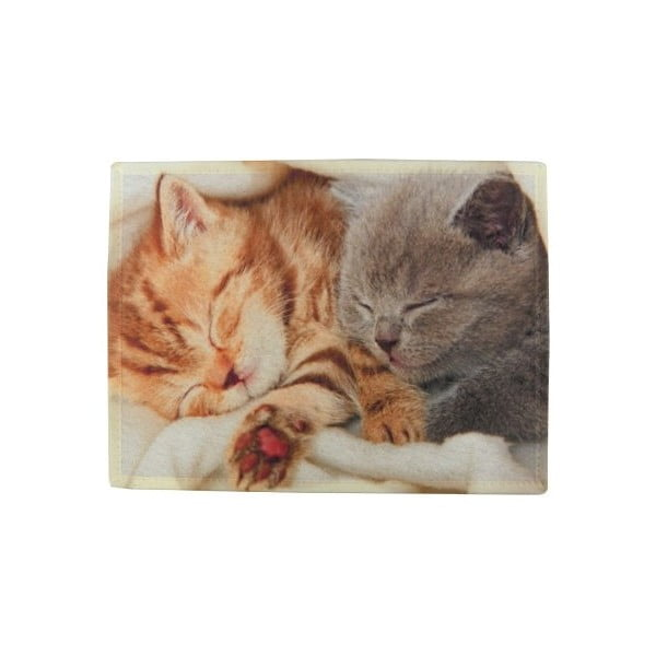 Mata stołowa Mars&More Kittens Sleeping on Blanket 40x30 cm