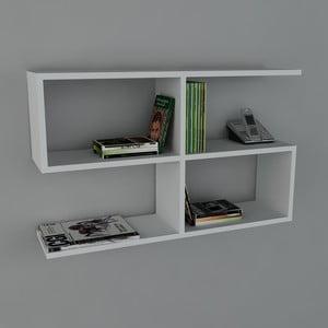 Półka Belitz Book White, 22x90x55,5 cm