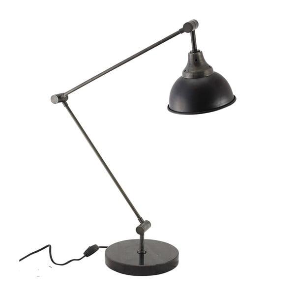 Lampa stołowa, czarna
