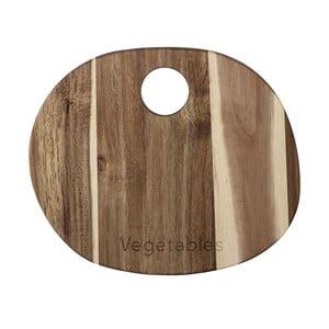 Deska do krojenia z drewna akacji Bloomingville, 30x22 cm