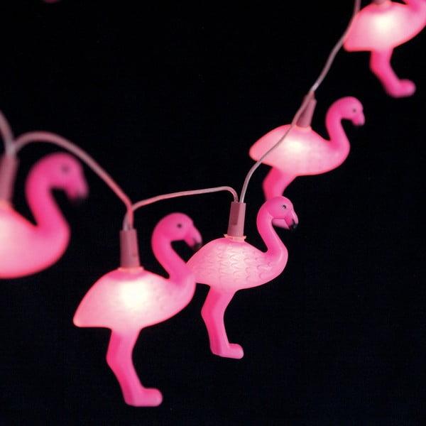 Girlanda świetlna z flamingami Rex London