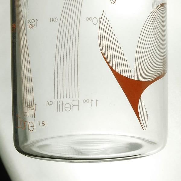 Butelka Drinkitnow Flipper 600 ml, pomarańczowa