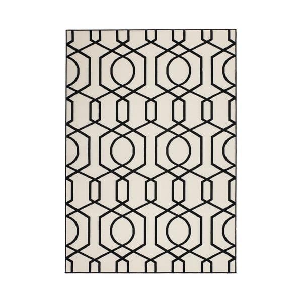 Czarny dywan Kayoom Stella 400, 80x150 cm