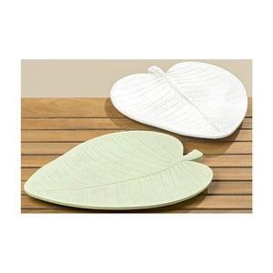 Zestaw 2 półmisków dekoracyjnych Boltze Leaf, 38 cm
